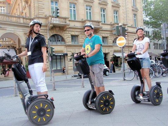 Mindways Segway Citytour Frankfurt
