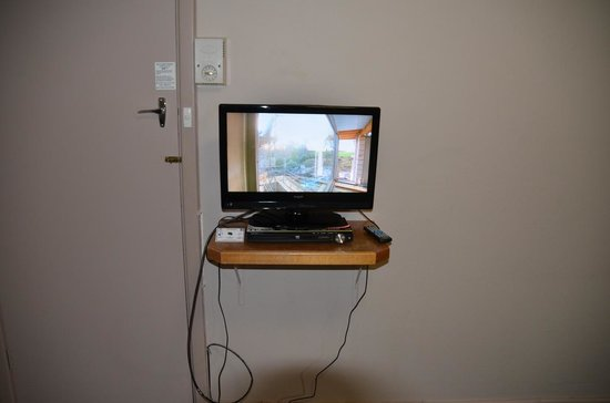 Bayview Geographe Resort: TV Stand & crappy DVD LoL