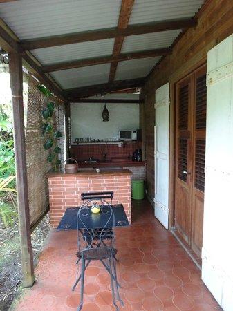 Habitation Matouba: le Pavillon, vue extérieure