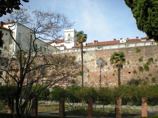 Castello e Parco di Masino : Retro castello dal giardino