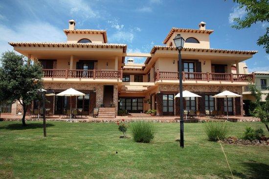 Los Nogales: Terraza Hotel