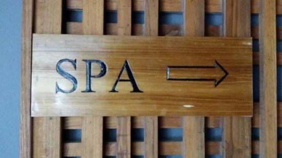 Crowne Plaza Phuket Panwa Beach: Spa entrance
