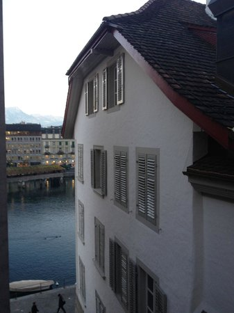 Boutique Hotel weisses Kreuz: view from the terrace