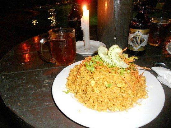 Capricorn Fiji Hotel : Rice dish, best choice from the resturant.