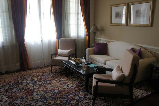 Raffles Hotel Le Royal: lounge