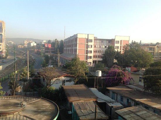 Hotel de Leopol International: vista de Addis Abeba