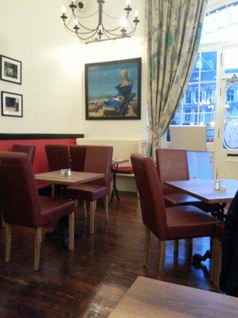 Daft Jamie's Restaurant: Dining Area
