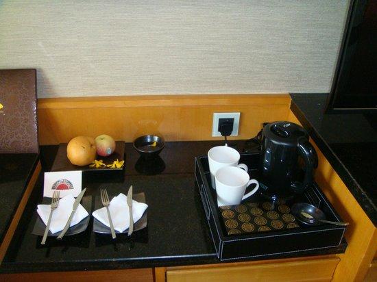 Mandarin Oriental, Singapore: все для чая-кофе