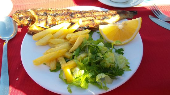 Dalyan River: Lunch at the Restaurant Denizkizi