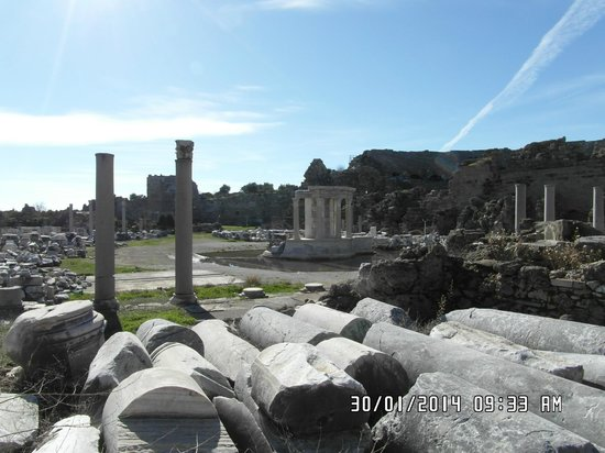 Greek Amphitheater: View from Road
