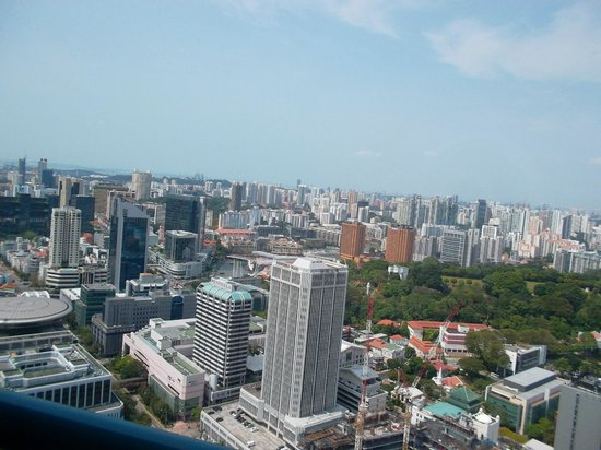 Swissotel The Stamford: city view from room