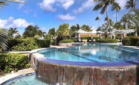 Four Seasons Resort Nevis, West Indies: At the main pool