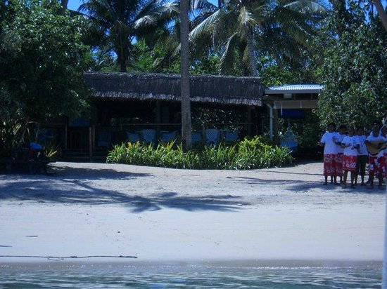Robinson Crusoe Island Resort: Welcome party