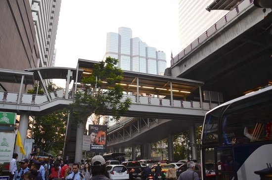 I-Residence Hotel Silom : Entrata Skytrain