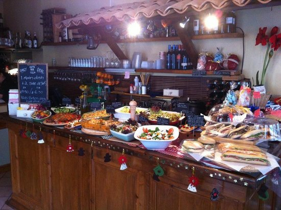 Pappa Ciccia-Fulham High Street: buffet2