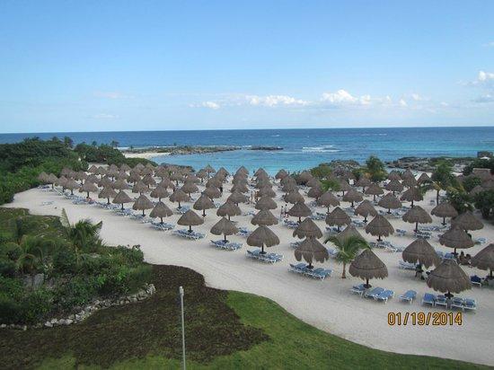 Grand Sirenis Riviera Maya Resort & Spa: Balcony view