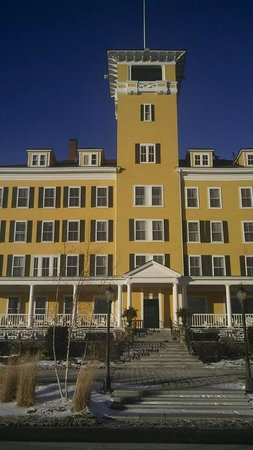 Mountain View Grand Resort & Spa : Front of Hotel