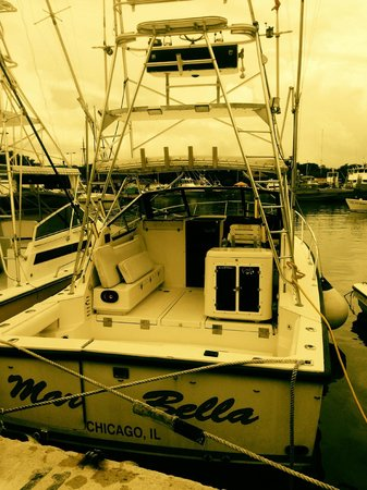 Billfish Boys: The Marbella, our boat: WELCOME
