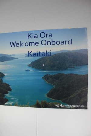 Interislander Cook Strait Ferry: .