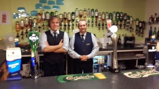 Selborne Hotel: Adrian and Andy, the best barmen in Scotland
