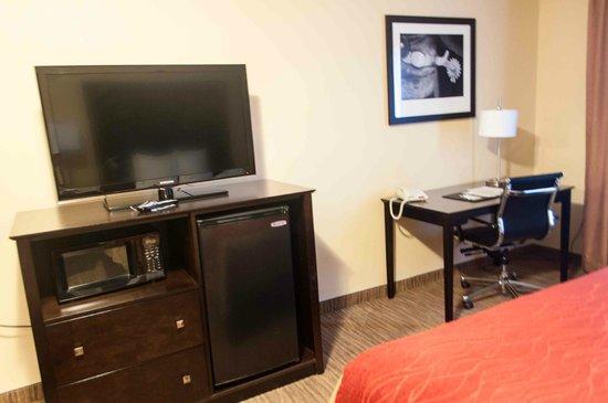 Comfort Inn & Suites : flat tv