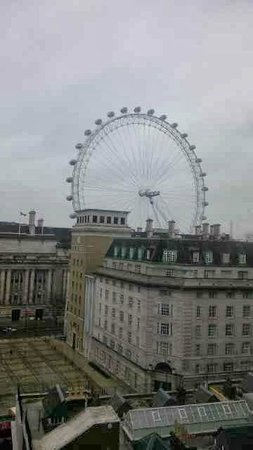 Park Plaza County Hall London: View from room