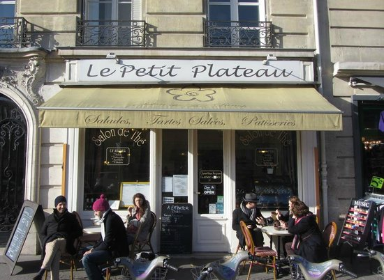 Esterno picture of le petit plateau paris tripadvisor - Le petit salon paris ...