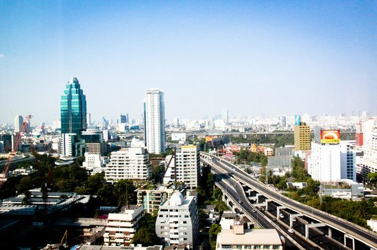 Novotel Bangkok Ploenchit Sukhumvit: View from 2315.