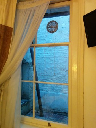 So Paddington: view from the room and dirty windows