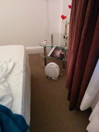 So Paddington: no heating