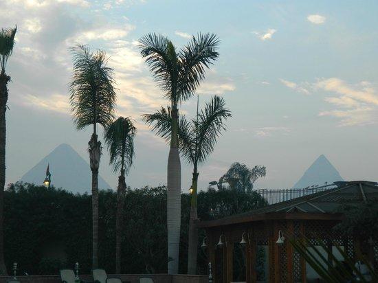 Mercure Cairo Le Sphinx: desde el patio