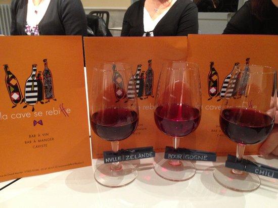 La cave se rebiffe : La Trilogie Pinot Noir