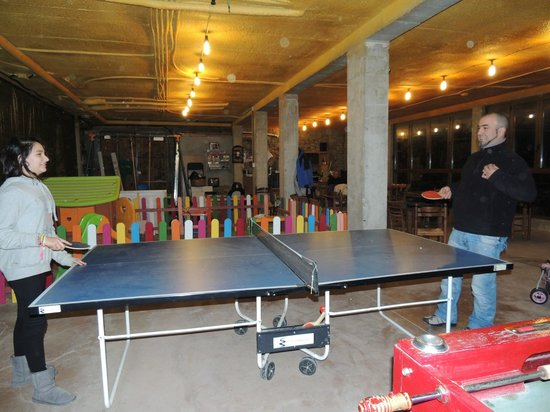 Casa Rural Tomaso: ping pong