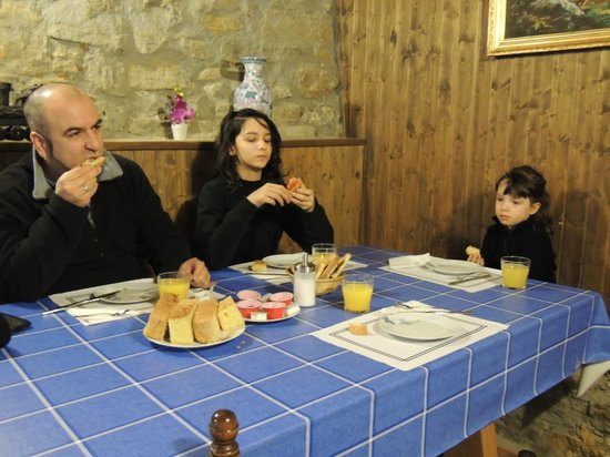 Casa Rural Tomaso: desayuno