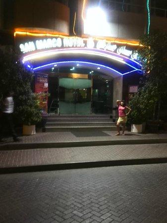 San Marco Hotel: У входа в отель