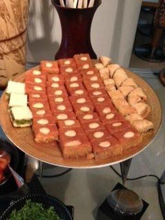 Grand Millennium Al Wahda : Arabic sweets at Breakfast Buffet...excellent