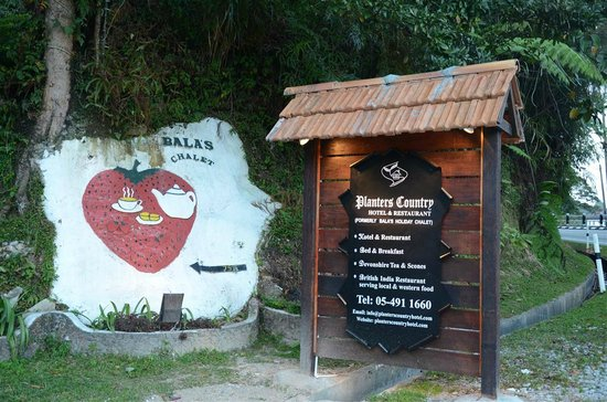 Planters Country Hotel & Restaurant : @ Bala's Holiday Chalet