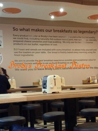 Brody's Breakfast Bistro: nice place to eat breakfast