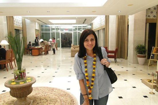 Jaypee Palace Hotel & Convention Centre Agra : Demasiado grande!