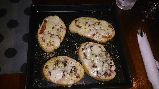 Pizza & Pasta: Bruchetta