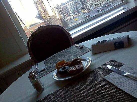 NH Carlton Amsterdam: veduta dalla sala colazione