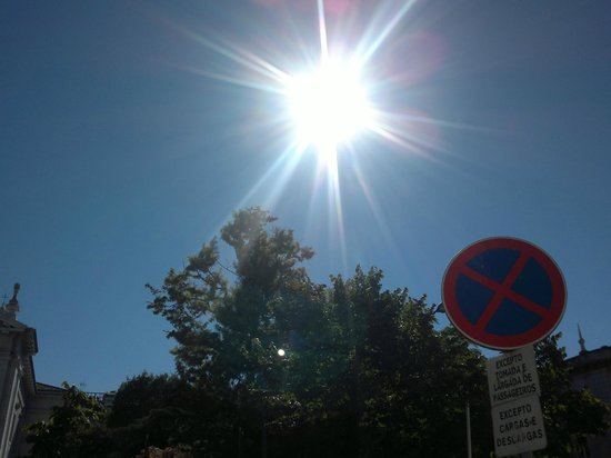 Hotel Sete Colinas : Temps merveilleux en Septembre