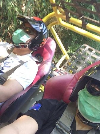 X Centre Chiang Mai: Inside buggy