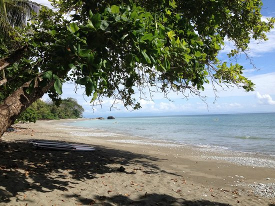 Beach a short walk from Tucan Terra.