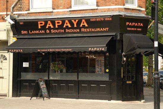 Papaya Restaurant London Bridge