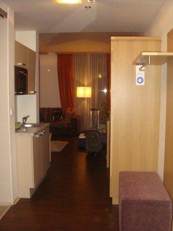 Ankora: entrada do apartamento
