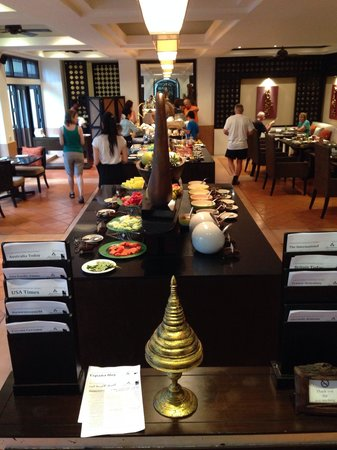 Anantara Bophut Koh Samui Resort: Breakfast buffet