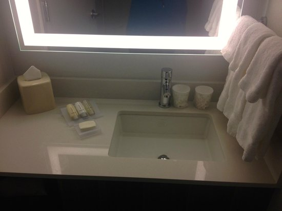 Hilton Garden Inn New York/Central Park South-Midtown West: Supplied us with Neutrogena products