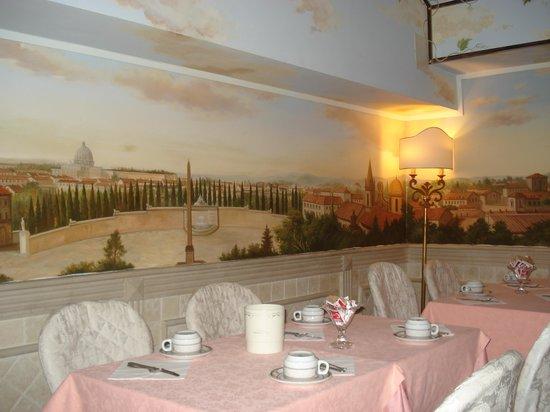 Hotel Pantheon: Salón desayuno