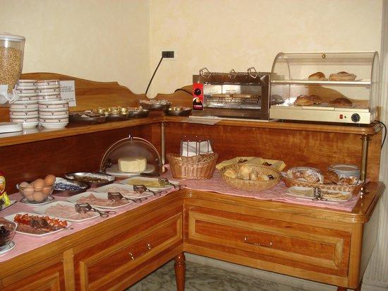 Hotel Pantheon: Desayuno
